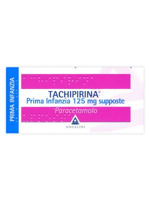 TACHIPIRINA*PR INF 10SUP 125MG
