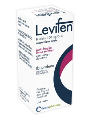 LEVIFEN*OS 150ML 100MG/5ML FRA