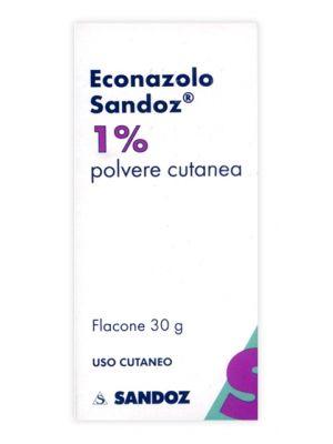 ECONAZOLO SAND*POLV CUT 30G 1%