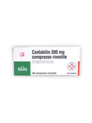 CANTABILIN*40CPR RIV 300MG
