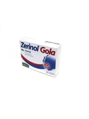 ZERINOL GOLA MENTA*18PAST 20MG