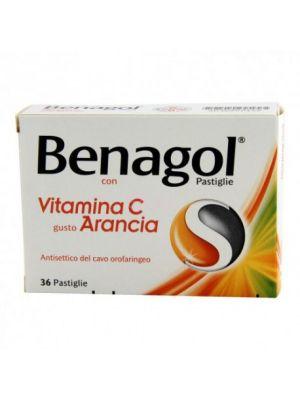 BENAGOL VIT C*36PAST ARANCIA