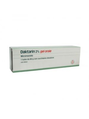 DAKTARIN*GEL ORALE 80G 20MG/G
