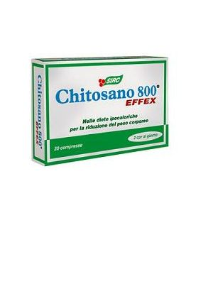 Chitosano 800 Effex20cpr