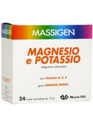 Massigen Magnesio Potassio 240g