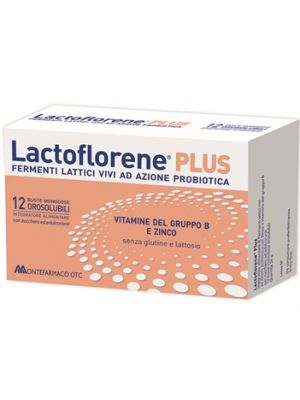 Lactoflorene Plus 12 Bustine Monodose