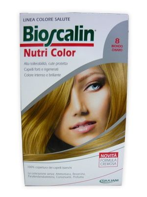 Bioscalin Nutricolor 8 Biondo Chiaro