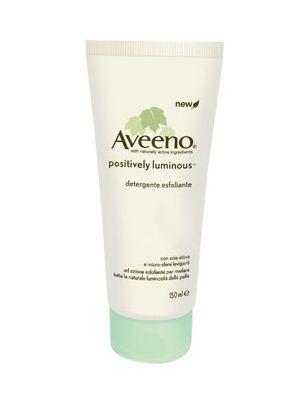 Aveeno Positively luminous esfoliante 150 ml