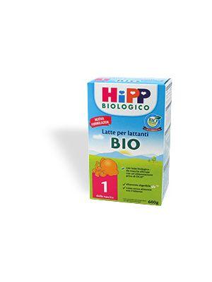 Hipp Bio1 Latte in polvere 600 g mesi 1-6