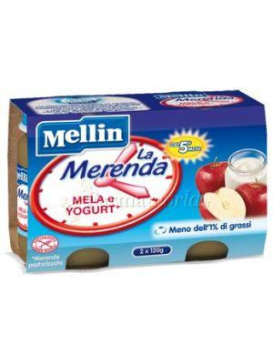 Mellin Merenda mela  e yogurt