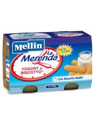 Mellin Merenda biscotto  e yogurt