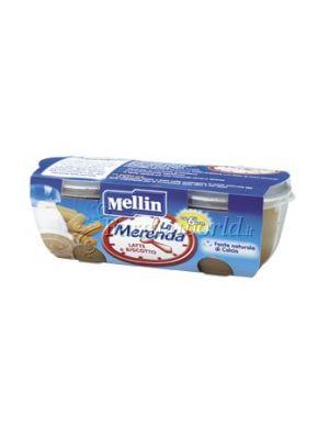 Mellin Merenda latte e biscotto