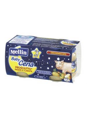 Mellin Baby Cena Prosciutto Patate e Carote
