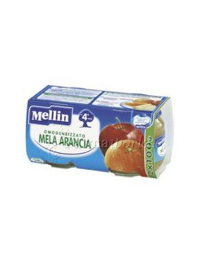 Mellin Omogeinizzato Mela Arancia 2x100g