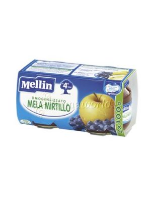 Mellin Omogeinizzato Mela Mirtillo 2x100g