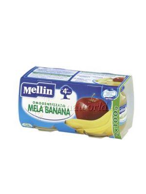 Mellin Omogeinizzato Mela Banana 2x100g