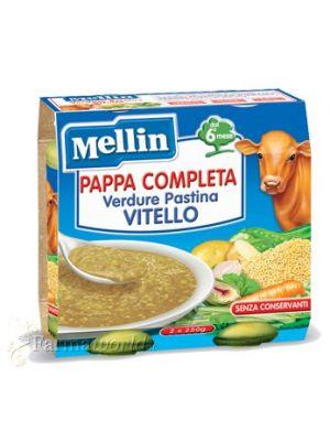 Mellin Pappa Completa Verdure Pastina Vitello