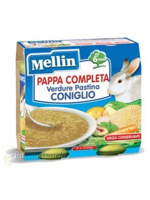Mellin Pappa Completa Verdure Pastina Coniglio