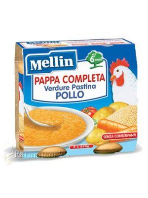 Mellin Pappa Completa Verdure Pastina Pollo