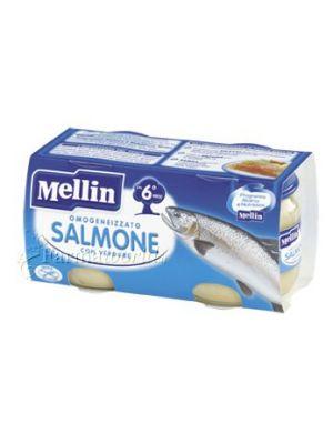 Mellin Omogeinizzato Salmone 2x80g