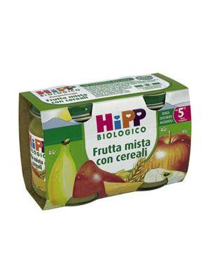 Hipp Omogeneizzato Frutta mista-cereali mesi 4+