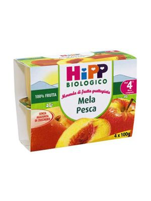 Hipp Bio Merenda di frutta Mela-Pesca