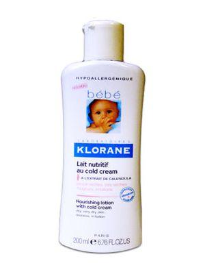 Klorane BéBé Latte nutritivo cold cream 200 ml