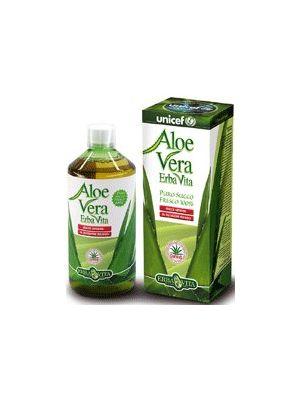 Erbavita Aloe Vera Succo Fresco 100 % 1 litro