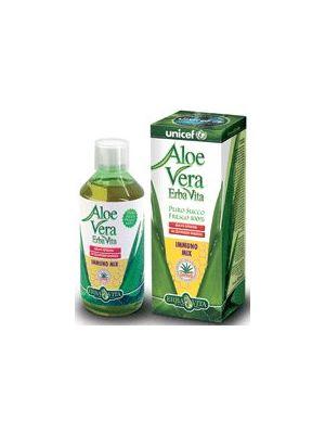 Erbavita Aloe Vera Succo 100 % immuno-mix