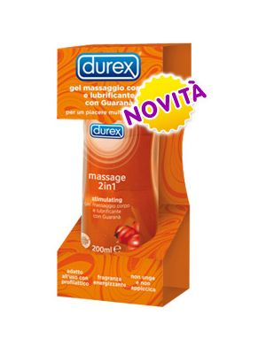 Durex Massage 2 in 1 Gel Stimulating 200 ml