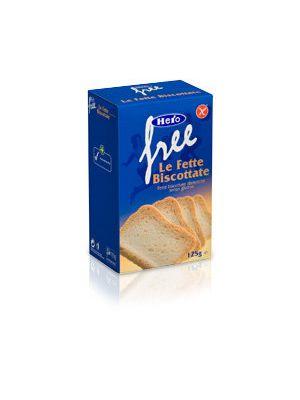 Hero Free Fette Biscottate senza Glutine 125 g