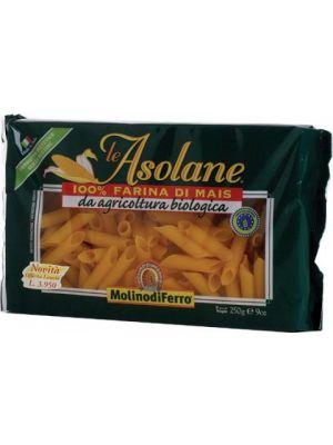 Le Asolane Rigatoni Mais senza Glutine 250 g