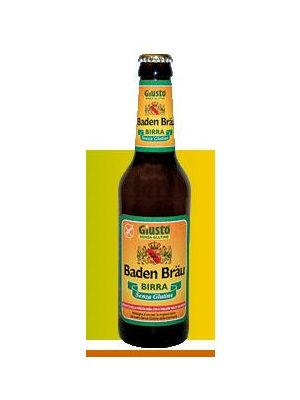 Giusto Birra Baden Brau senza Glutine 33 cl