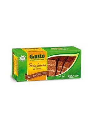 Giusto Torta Farcita Cacao senza Glutine 300 g