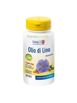 Longlife Olio Lino Bio 50 Perle