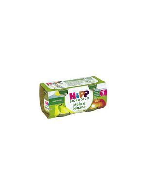 Hipp Bio Omogeneizzato Mela-Banana mesi 4+