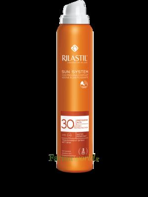 Rilastil Sun System Spf30 Spray Trasparent 200 ml