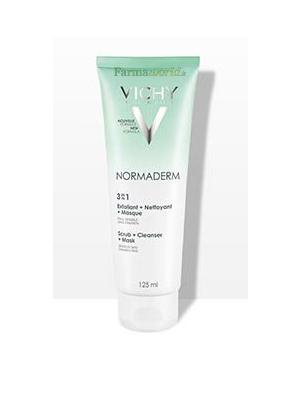 Vichy Normaderm 3in1 Detergente 125 ml